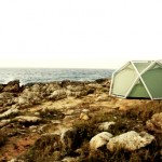 tent that uses double layer airbeams instead of poles