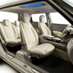 Johnson Controls ie3 concept car - interior overview 720px
