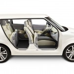 Johnson Controls ie3 concept car - side view of interior 720px