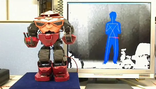 Kinect-controlled Android Robot 544x311px