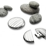 LaCie GALET is a luxurious-chic USB flash drive