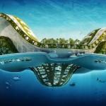 Vincent Callebaut Architectures' Lilypad Floating Ecopolis img1 600x400px