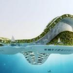 Vincent Callebaut Architectures' Lilypad Floating Ecopolis img2 600x400px