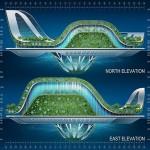 Vincent Callebaut Architectures' Lilypad Floating Ecopolis img4 600x450px