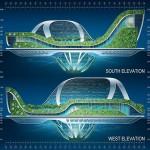 Vincent Callebaut Architectures' Lilypad Floating Ecopolis img5 600x450px