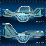 Vincent Callebaut Architectures' Lilypad Floating Ecopolis img6 600x450px