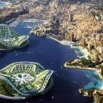 Vincent Callebaut Architectures' Lilypad Floating Ecopolis img8 600x400px