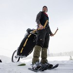 going hiking? get MONOWALKER to tow your backpack
