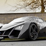 a Russian futuristic-looking sports car that's not a concept