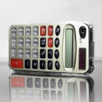 Retro Calculator iPhone case back 600px