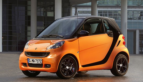 Special Edition Smart fortwo nightorange img1 544x311px