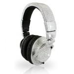 luxurious Swarovski crystals encrusted headphones
