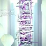 Vertical Theme Park - Roller Coaster & Flume Ride 800px