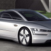 Volkswagen XL1 Prototype - angled front view 600x330px