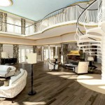 Yacht Island Design Streets of Monaco - suite impression 544px