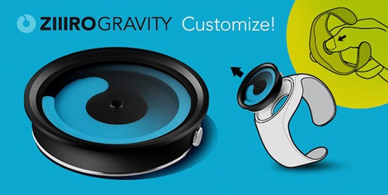 ZIIRO Gravity Customize 544px