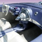 1955 Ford Beatnik Bubbletop Concept Custom - cockpit view 560x345px