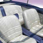 1955 Ford Beatnik Bubbletop Concept Custom - seats 560x345px