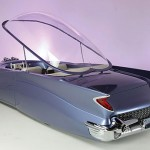 1955 Ford Beatnik Bubbletop Concept Custom with bubbletop flipped up 560x345px