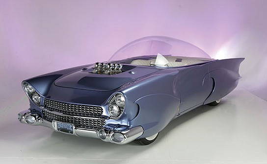 1955 Ford Beatnik Bubbletop Concept Custom main 544px