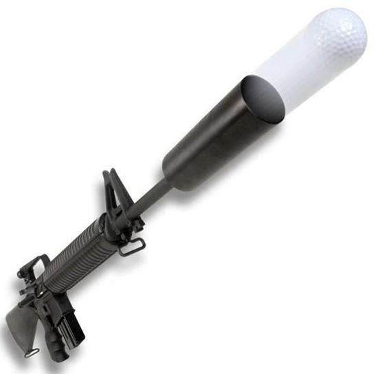 NcSTAR AGOLF AR-15/M16 Golf Ball Launcer main 544x544px
