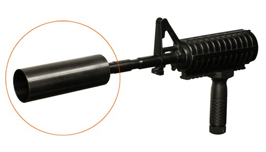 NcSTAR AGOLF AR-15/M16 Golf Ball Launcher main2 544x311px
