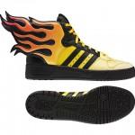 Adidas Jeremy Scott Flames Shoes image1 640x480px