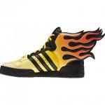 Adidas Jeremy Scott Flames Shoes image3 640x480px