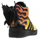 Adidas Jeremy Scott Flames Shoes image4 640x480px