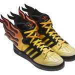 limited edition Jeremy Scott Wings have wings of flames