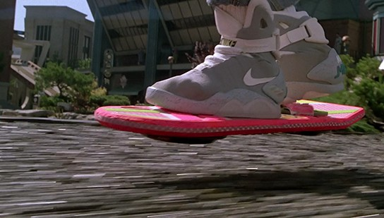 Back to the Future 2 - hoverboard 544x309px