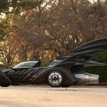 Batman Forever promotional Batmobile - side view 560x328px