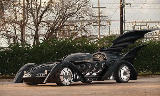 Batman Forever promotional Batmobile main 544x328px