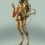 Bjorn Hurri Steampunk Star Wars - 3CPO 566x800px