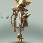 Bjorn Hurri Steampunk Star Wars - Yoda 566x800px