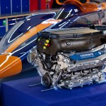 Bloodhound SSC along side Cosworth Formula One engine 800x500px