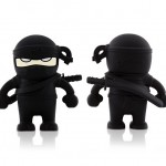 Bone Collection Ninja USB Flash Drive - black 640x480px
