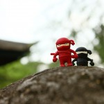 Bone Collection Ninja USB Flash Drive - red & black on a mission 640x480px