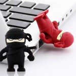 Bone Collection's USB Flash Drives disguise as Ninjas