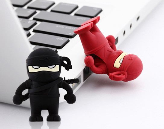 Bone Collection Ninja USB Flash Drive main 544x428px