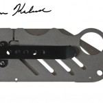 Carbon Fiber Gear Creditor Carbon Fiber Money Clip Knife - front 640x448px