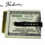Carbon Fiber Gear Creditor Carbon Fiber Money Clip Knife - back (credit card and money not included) 640x448px
