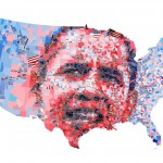 Charis Tsevis Illustration - Barack Obama 800x560px