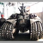 China Junkyard Megatron - size as compared a person 600x500px