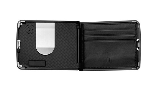 Dunhill Biometric Wallet - interior 544x311px