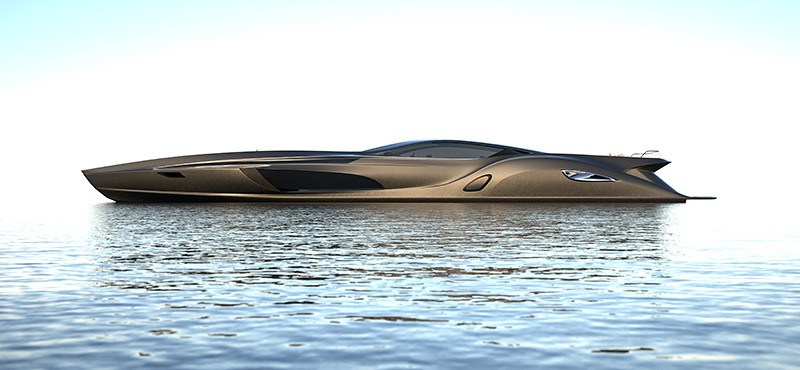 Super Yacht Complements By A Supercar Tender Mikeshouts