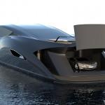 Gray Design SC166 - garage with supercar tender 800x370px