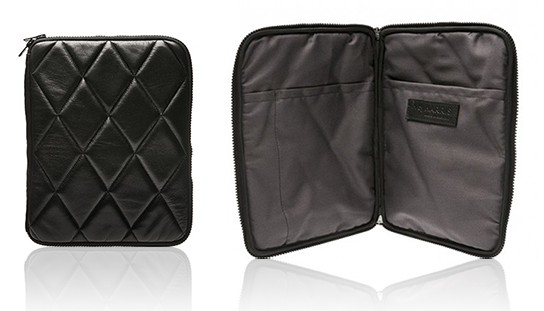 HbyHarris Quilted Leather iPad case main 544x311px