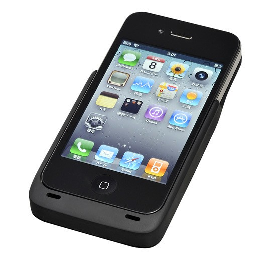 Hitachi Maxell Sleeve Charging Case for iPhone 4 544px