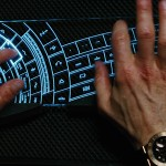 Iron Man - touch keyboard that turns on with a swipe 600x300px